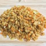 大豆ミートのキーマカレー