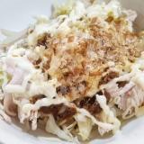 キャベツと鶏胸肉のサラダ