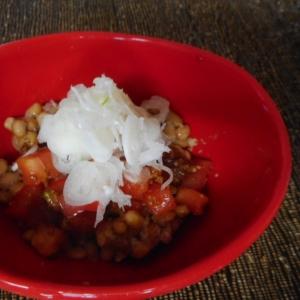 醤油麹トマト納豆