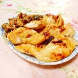 ガリバタ味❤鶏胸肉ステーキと茸のケチャマヨ添え❤