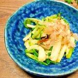浅葱☆麺つゆ浸し