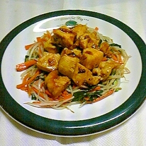 鶏肉の生姜焼きカレー風味