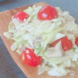 サバ缶でタイ風サラダ