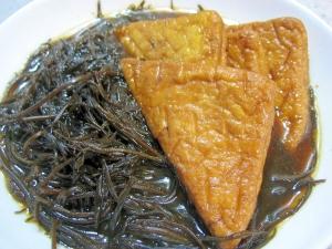 簡単!美味しい!☆ひじきと天ぷらの煮物☆