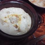 炒り大豆グラタン