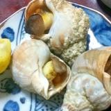 白だしde焼きつぶ貝【居酒屋メニュー☆海の家】