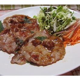 豚肉のソテー梅ソース