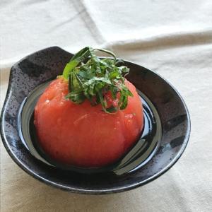 丸ごとトマトのお浸し