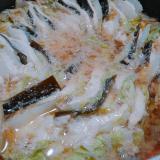 ~昆布締め鶏肉のミルフィーユ鍋~