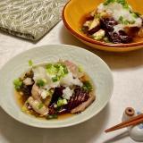 めんつゆで簡単!茄子と豚バラのおろし煮浸し