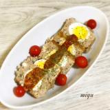 豆腐と挽肉のミートローフ