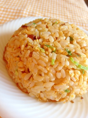 主婦の昼ご飯・簡単♪和風チャーハン☆彡