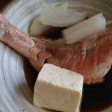 即席ポン酢で赤魚の水炊き