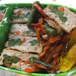 お弁当にも!調理が簡単★鶏ひき肉の野菜入りつくね★