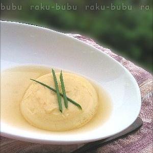 レンジでかんたん♪【玉子豆腐】
