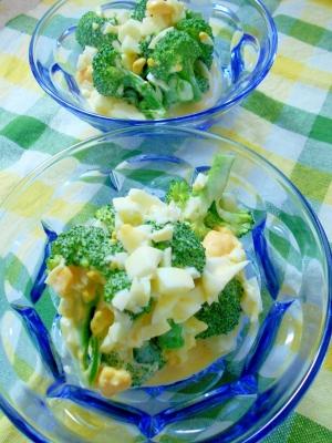 ブロッコリーの玉子あえサラダ