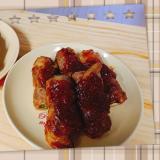 醤油麹を使って、豚肩ロース肉のネギ巻き