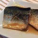 フライパンで簡単和食!鯖の味噌煮