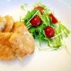 簡単ふわふわ!鶏むね肉と豆腐の揚げ焼きナゲット
