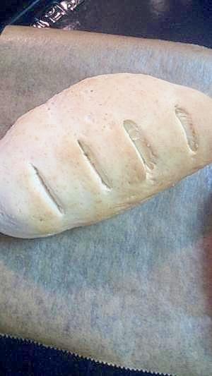 3つだけ♪無発酵の時短パン