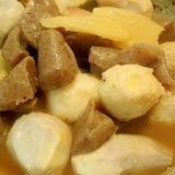 里芋と蒟蒻の生姜煮