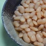 白花豆の甘煮☆