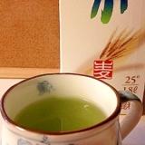 生姜青汁の焼酎割り*・゜゚