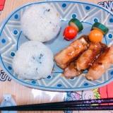 簡単☆肉ポテト巻き!お弁当にもo(^-^)o