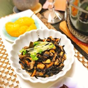 やっぱり和食♡ひじきとお豆の煮物