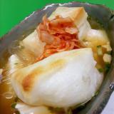 スープ春雨で温まる~!(^^)焼き餅入り豆腐チゲ♪
