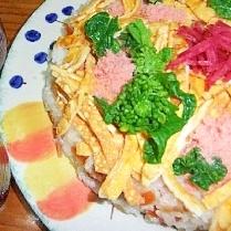 簡単♪桃の節句のお寿司
