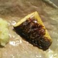 フライパンで塩鯖