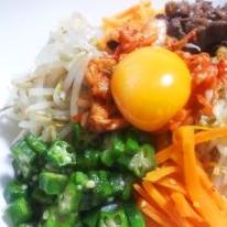 野菜たっぷりまんぷくビビンバ