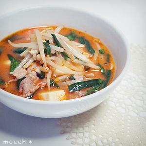 チゲ風味噌スープ