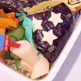幼稚園のお弁当★がっつりおにぎり弁当