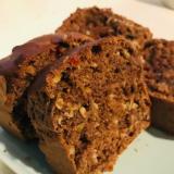 パウンドケーキ型で作るココアホットケーキ