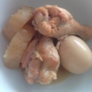 生姜が香る!骨付き鶏肉の煮物ー★