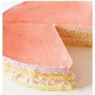 フレッシュ苺を使います!苺のムースケーキ!