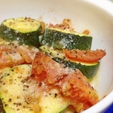 ズッキーニ&トマトのシンプル*オーブン焼き