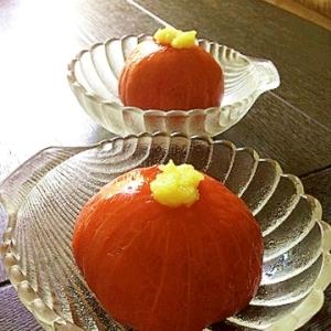 塩レモンペーストで冷やしトマト