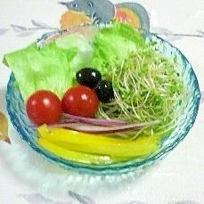 レタスのサラダ~♫