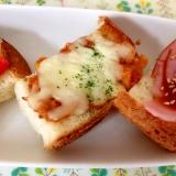 ミートソースのチーズトースト☆