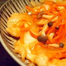 鶏ムネ肉の甘酢あんかけ
