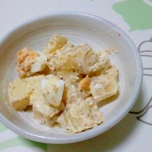 粒マスタード風味のエッグポテトサラダ++