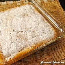 かぼちゃの豆乳スフレケーキ