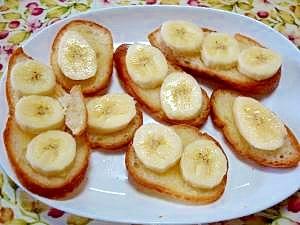 バナナがおいしい☆僕が作ったシュガーパン