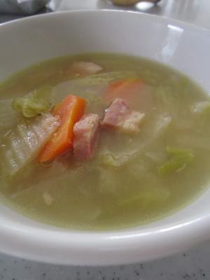 節約レシピ☆ブロッコリーの茎も入った野菜スープ