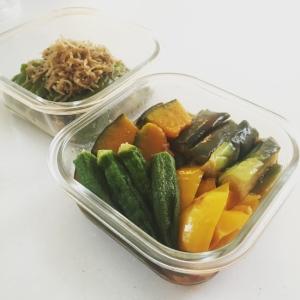 夏野菜の揚げ浸し