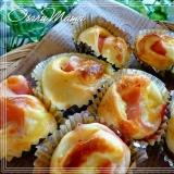 ☆手軽に食べよう♪ハムマヨチーズのミニパン☆