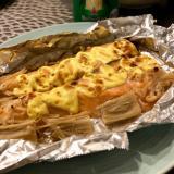 銀鮭のホイル焼き☆炙りマヨ